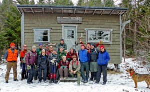 Photo: Headwaters Camp, Gang & Jack 12-Dec-12