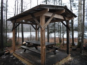 Photo: Wheeler Pond Picnic Table Shelter